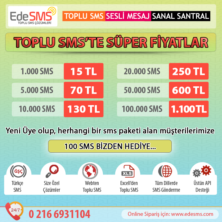 Kahramanmaraş Toplu SMS